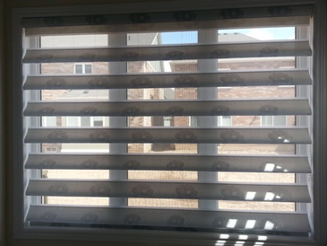 Flat Roman Shades - Window Coverings Bolton by Modern Window Fashion