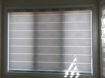 Flat Roman Shades - Window Coverings ontario by Modern Window Fashion