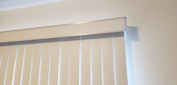 Fabric Vertical Blinds - Window Coverings Bolton by Modern Window Fashion