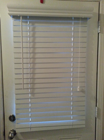 Three and Half Inch Fauxwood Blinds - Window Coverings Bolton by Modern Window Fashion