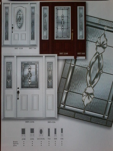 Stain Glass Door Inserts Windsor by Modern Window Fashion