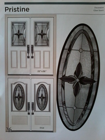 Stain Glass Door Inserts North York by Modern Window Fashion