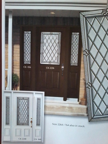 Stain Glass Door Inserts Waterloo by Modern Window Fashion