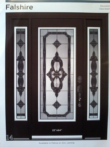 Stain Glass Door Inserts Owen Sound by Modern Window Fashion