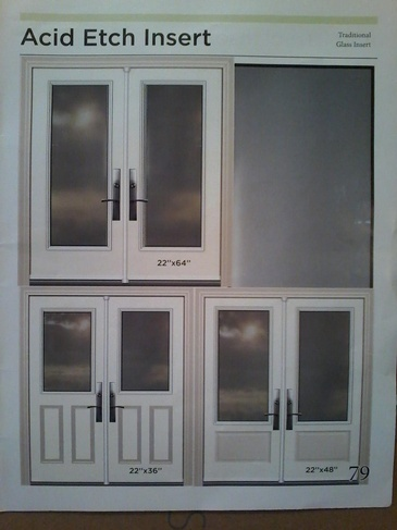 Stain Glass Door Inserts Pickering by Modern Window Fashion