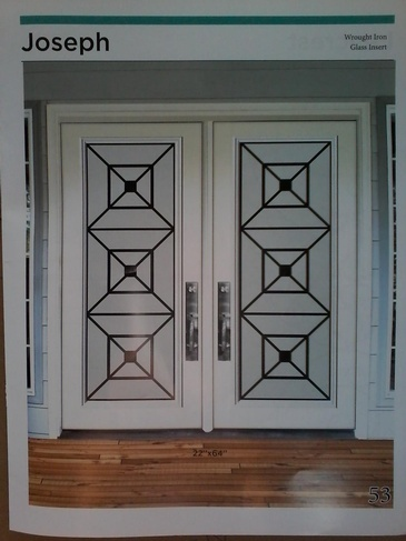 Wrought Iron Door Inserts Barrie by Modern Window Fashion