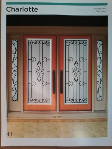 Wrought Iron Door Inserts Bowmanville by Modern Window Fashion