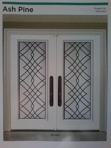 Wrought Iron Door Inserts Georgetown by Modern Window Fashion