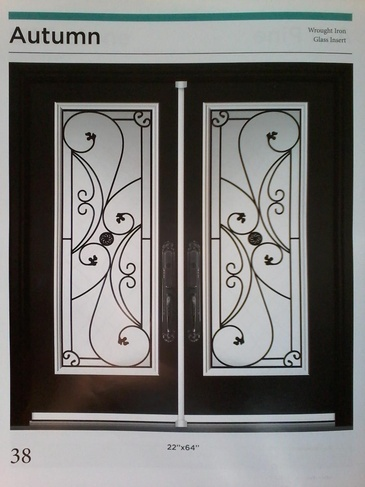 Wrought Iron Door Inserts Owen Sound by Modern Window Fashion