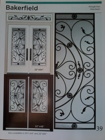 Wrought Iron Door Inserts Bolton by Modern Window Fashion