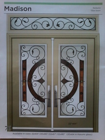 Wrought Iron Door Inserts Vaughan by Modern Window Fashion