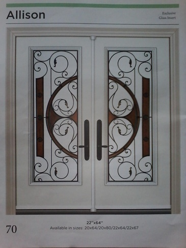 Wrought Iron Door Inserts Toronto by Modern Window Fashion