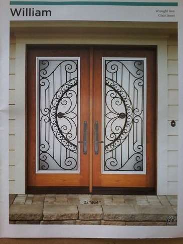 Wrought Iron Door Inserts Waterloo by Modern Window Fashion