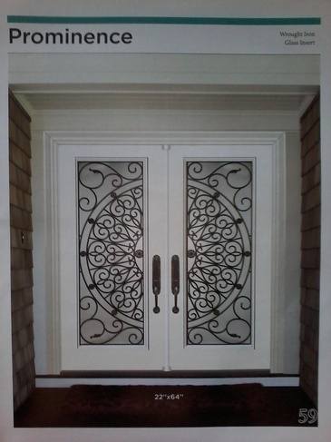 Wrought Iron Door Inserts North York by Modern Window Fashion