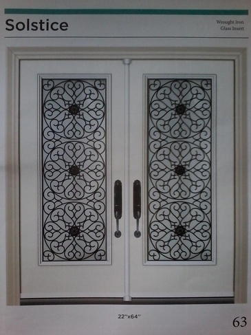 Wrought Iron Door Inserts Mississauga at Zebradualshades.com