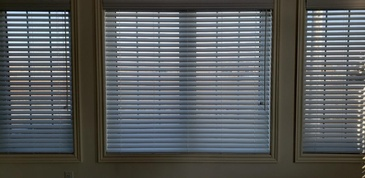 VENETIAN BLINDS ALSO KNOWN AS FAUXWOOD BLINDS