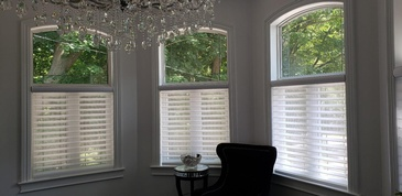 Triple Window Shades Ontario by Modern Window Fashion