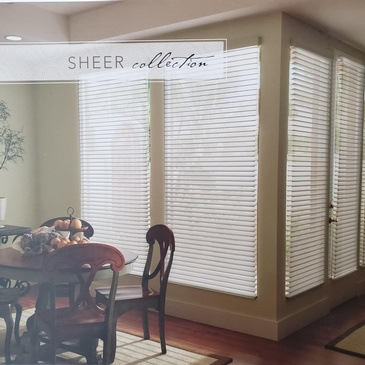 Sheer Window Shades Caledon by Modern Window Fashion
