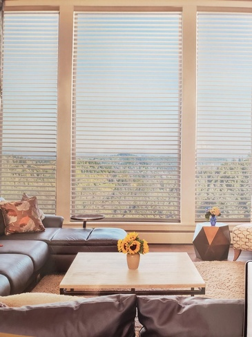 Triple Window Shades Bolton by Modern Window Fashion