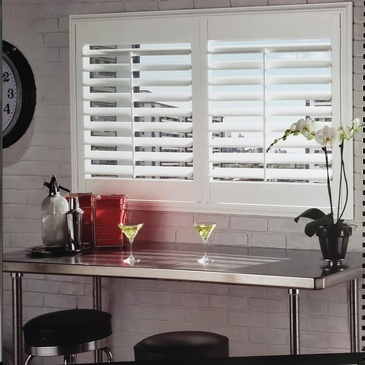 Vinyl Plantation Shutters Oakville by Modern Window Fashion