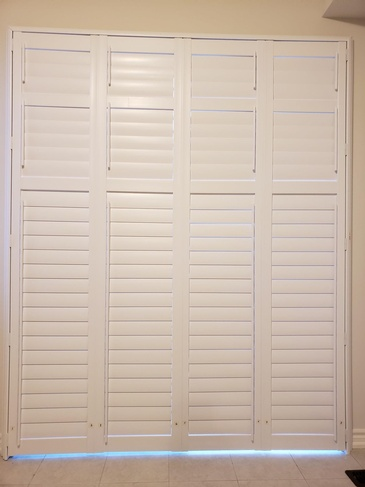 Vinyl Plantation Shutters Burlington by Modern Window Fashion