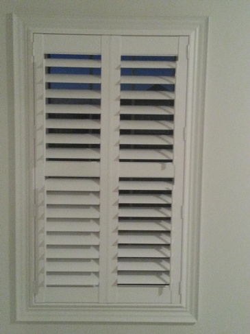 Vinyl California Shutters Ajax by Modern Window Fashion