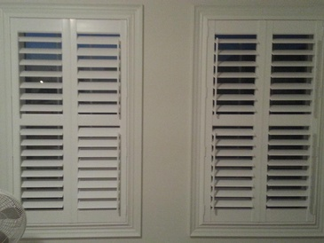Vinyl Plantation Shutters Whitby by Modern Window Fashion