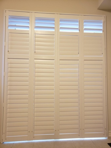 Vinyl California Shutters Pickering by Modern Window Fashion
