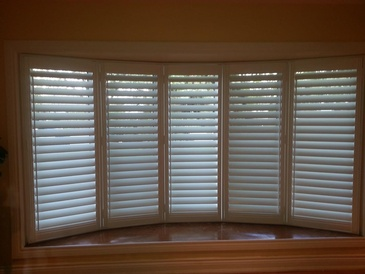 Vinyl Plantation Shutters Aurora by Modern Window Fashion