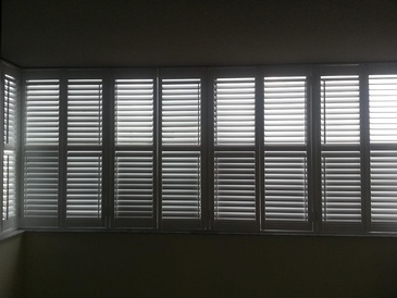 Vinyl California Shutters Brampton by Modern Window Fashion