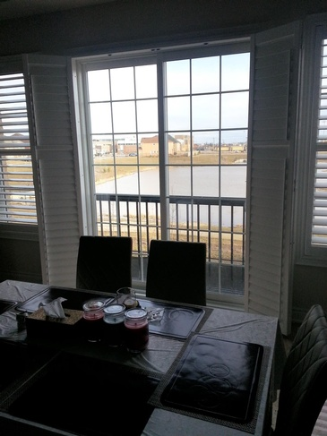 Vinyl Plantation Shutters Etobicoke by Modern Window Fashion
