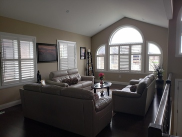Vinyl California Shutters King City by Modern Window Fashion